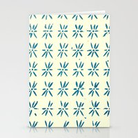 LCD teal Stationery Cards
