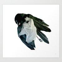 MOCKING BIRD SERIES #2 Art Print