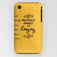 Practically Perfect In E… iPhone (3g, 3gs) Slim Case