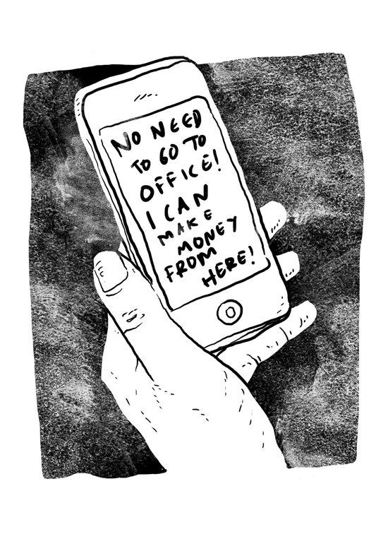 smartphone Art Print