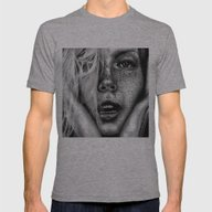 + FRECKLES + Mens Fitted Tee Athletic Grey SMALL