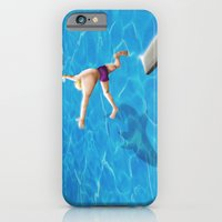 iPhone & iPod Case featuring Water by Lee Grace Illustration