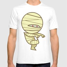 Have you seen my Mummy? SMALL White Mens Fitted Tee