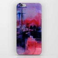 BOSTON 4 - RED iPhone & iPod Skin