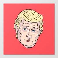 Trumputin Canvas Print