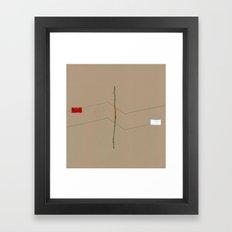 Linear Nature 6 Framed Art Print
