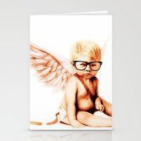 Stupid Cupid Stationery Cards