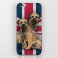 Border Terrier Union Jac… iPhone & iPod Skin