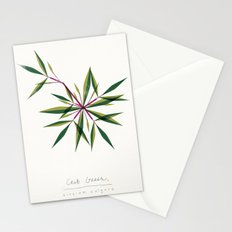 Crab Grass Modern Botanical Stationery Cards