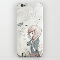 My Heart Carries Me Through iPhone & iPod Skin