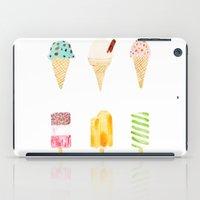 ice cream selection iPad Case