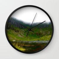 Back Garden  Wall Clock
