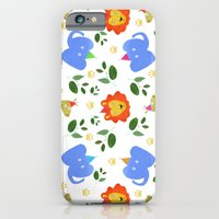 iPhone & iPod Case featuring Happy Animals by Lydia Coventry
