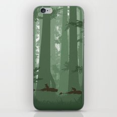 The Battle of Endor - The Tortoise & the Hare iPhone & iPod Skin