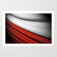 Flag Of Poland Art Print