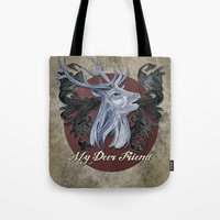 My Deer Friend / Version… Tote Bag