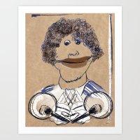 Hey, hey, it's Franklin Art Print