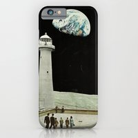 iPhone & iPod Case featuring moon by Caroline A
