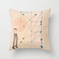 Thigh High Throw Pillow