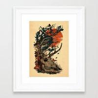 Dominate Framed Art Print