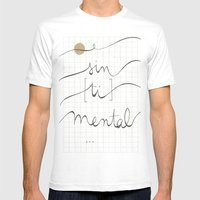 Sin (tí) Mental Mens Fitted Tee White SMALL