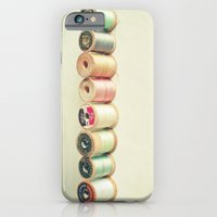 iPhone & iPod Case featuring Pastel Thread by Cassia Beck