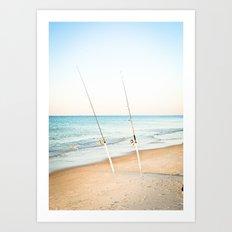 Rods Art Print
