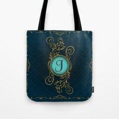 Monogram J Tote Bag