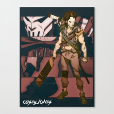 Scum Kicker Canvas Print