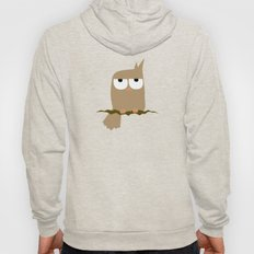 owl on a tree Hoody