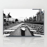 Train track stiletto iPad Case