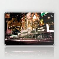 Lights on Broadway Laptop & iPad Skin
