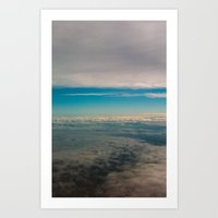 In The Middle Of Sky Art Print