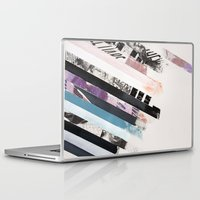 stripes Laptop & iPad Skins featuring STRIPES  by Brandon Neher