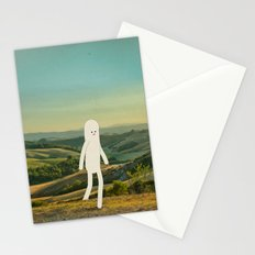walking in tuscany Stationery Cards