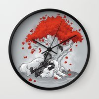 Dreaming of a Quiet Winter Wall Clock