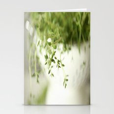 Fresh Herb In A White Po… Stationery Cards