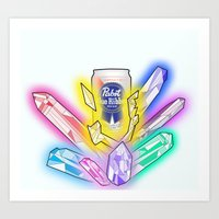 Party Crystals Art Print