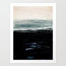 abstract minimalist landscape 3 Art Print