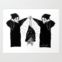 HANG BAT Art Print