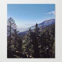San Bernardino Mountains Canvas Print