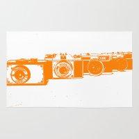 Orange Photo Rug