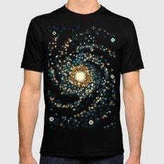 Pinwheel Galaxy M101 (8bit) Mens Fitted Tee SMALL Black