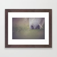 Green Pastures Framed Art Print