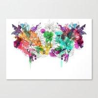 Flowers.. Canvas Print
