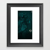 THE SEEING Framed Art Print