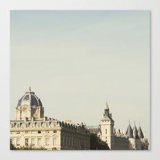 Seine - Paris Photography Canvas Print