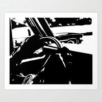 Cars #2 Art Print