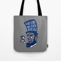 Abe Drincoln Tote Bag