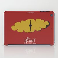 The Hobbit - the Desolation of Smaug - Minimal Movie Poster iPad Case